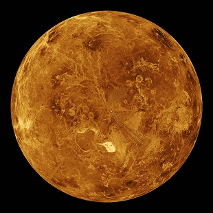 Venus North Pole