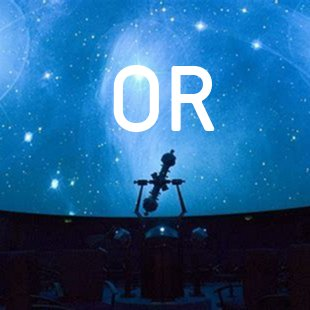 OR planetariums